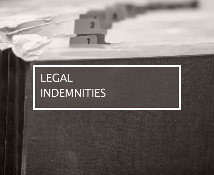 legal indemnities
